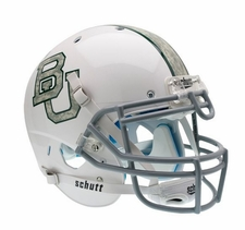 Baylor Bears White w/ Camo Schutt XP Authentic Helmet