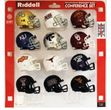 Big 12 Pocket Pro Conference Helmet Set 2015