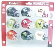 Big East Pocket Pro Conference Helmet Set