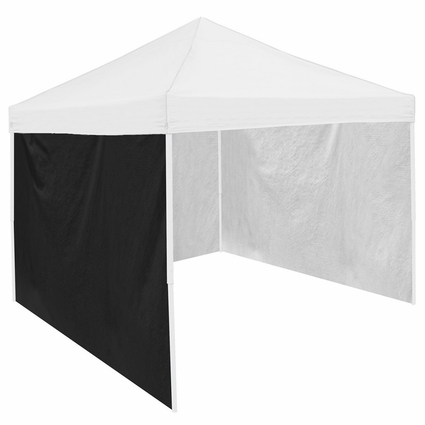 Black Tent Side Panel for Logo Canopy Tailgate Tents