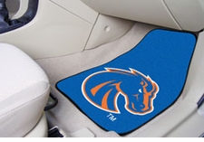 Boise State Broncos 2-Piece Carpeted Car Mats Front Set