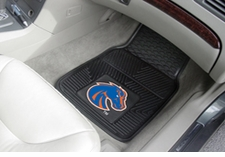 Boise State Broncos 2-Piece Heavy Duty Vinyl Car Mat Set