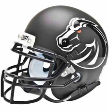 Boise State Broncos Black Schutt Authentic Mini Helmet