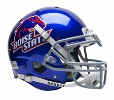 Boise State Broncos Blue Schutt XP Authentic Helmet