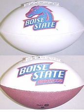 Boise State Broncos Fotoball Signature Embroidered Full Size Football