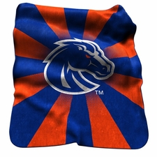 Boise State Broncos Raschel Throw