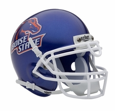 Boise State Broncos Blue Schutt Authentic Mini Helmet