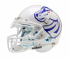Boise State Broncos White Pro Schutt XP Authentic Helmet