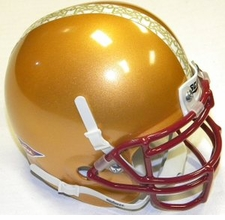 Boston College Eagles Alternate Schutt Authentic Mini Helmet