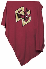 Boston College Eagles Sweatshirt Blanket (Red)