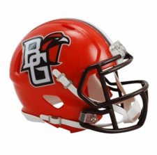 Bowling Green Falcons Riddell Speed Mini Helmet