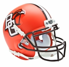 Bowling Green Falcons Orange Schutt Authentic Mini Helmet