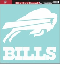 Buffalo Bills 18 x 18 Die-Cut Decal