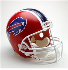 Buffalo Bills 2002-2010 Throwback Riddell Deluxe Replica Helmet