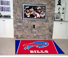 Buffalo Bills 4'x6' Floor Rug