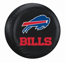 Buffalo Bills Black Large Spare Tire Cover