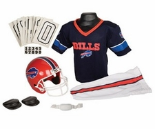 Buffalo Bills Deluxe Youth / Kids Football Uniform Set