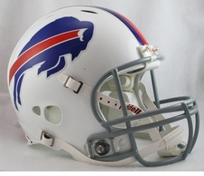 Buffalo Bills Full Size Riddell Revolution NFL Helmet