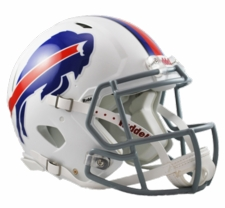 Buffalo Bills Revolution Speed Riddell Authentic Helmet