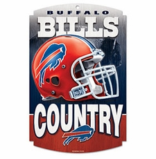 Buffalo Bills Wood Sign