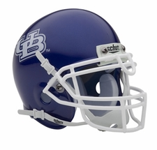 Buffalo Bulls Schutt Authentic Mini Helmet