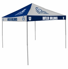 Butler Bulldogs Navy / White Checkerboard Logo Canopy Tailgate Tent