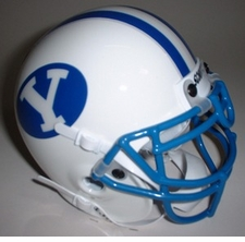 BYU Cougars 1984 Schutt Throwback Mini Helmet