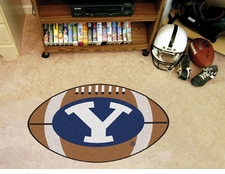 "BYU Cougars 22""x35"" Football Floor Mat"
