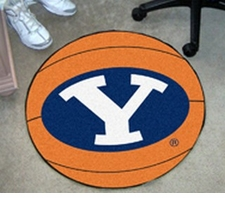 "BYU Cougars 27"" Basketball Floor Mat"