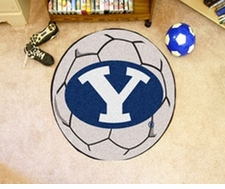 "BYU Cougars 27"" Soccer Ball Floor Mat"