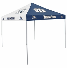 BYU Cougars Blue / White Logo Canopy Tailgate Tent