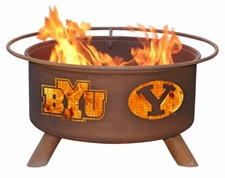 BYU Cougars Outdoor Fire Pit
