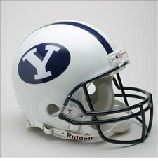 BYU Cougars Riddell Pro Line Authentic Helmet