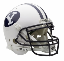 BYU Cougars Schutt Authentic Full Size Helmet
