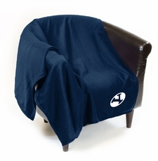 BYU Cougars Sweatshirt Throw Blanket