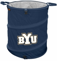 BYU Cougars Tailgate Trash Can / Cooler / Laundry Hamper