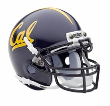 California Golden Bears Blue Schutt Authentic Mini Helmet