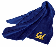 California Golden Bears Fleece Throw