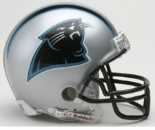 Carolina Panthers 1995-2011 Throwback Replica Mini Helmet