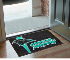 "Carolina Panthers 20""x30"" Uniform-Inspired Floor Mat"