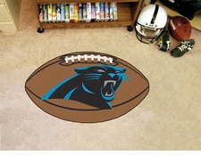 "Carolina Panthers 22""x35"" Football Floor Mat"