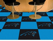 "Carolina Panthers Carpet Tiles - 20 18"" x 18"" Tiles"