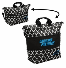 Carolina Panthers  - Expandable Tote (patterned)