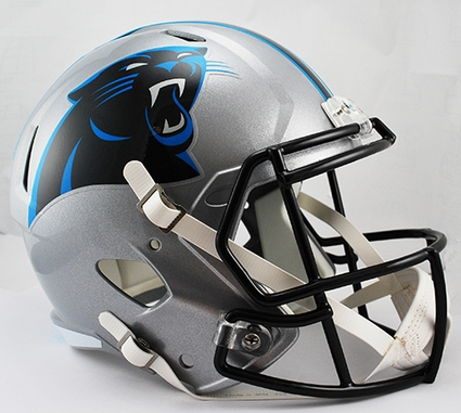 Carolina Panthers Full-Size Deluxe Replica Speed Helmet