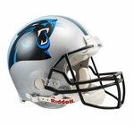 Carolina Panthers Riddell Full Size Authentic Helmet