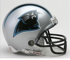 Carolina Panthers Riddell Replica Mini Helmet