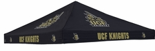 Central Florida Knights Black Logo Tent Replacement Canopy