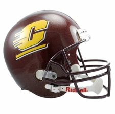 Central Michigan Chippewas Riddell Deluxe Replica Helmet