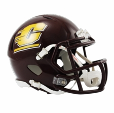 Central Michigan Chippewas Riddell Speed Mini Helmet