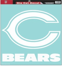 Chicago Bears 18 x 18 Die-Cut Decal